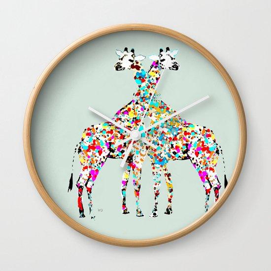 someone like you (animals Wall Clock