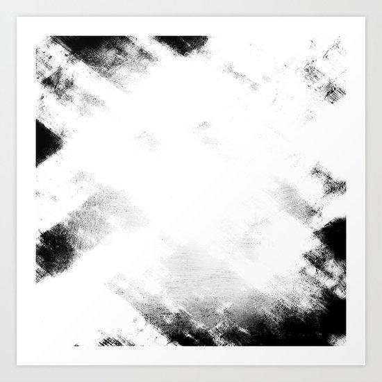 Black & White Abstract Series ~ 2 Art Print