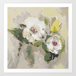French Summer Bouquet Art Print