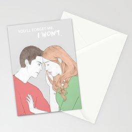 I won't. Stationery Cards