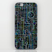 techno iPhone & iPod Skins featuring Techno Music by Shawn King