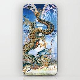 THE WATER DRAGON iPhone Skin