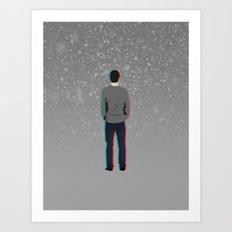 Lonely Boy  Art Print