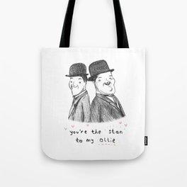 Laurel & Hardy Tote Bag