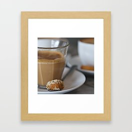 CoffeeCups Framed Art Print