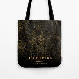 Heidelberg, Germany - Gold Tote Bag
