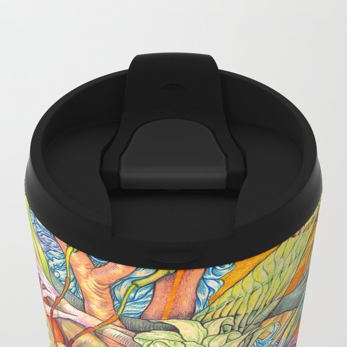 Compositions insect ( nightmare in summer ) Metal Travel Mug