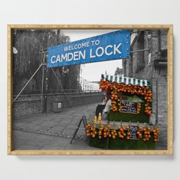 Welcome to Camden Lock Serving Tray