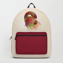 birds flamingo  Backpack