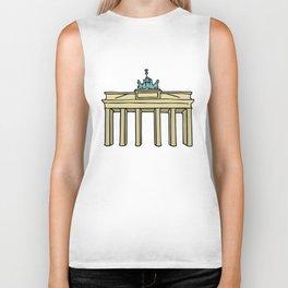 Brandenburg Gate in Berlin Biker Tank