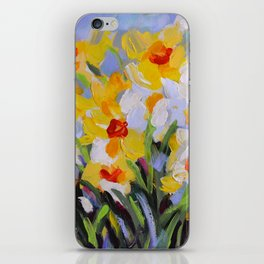 Daffodil Tangle iPhone Skin