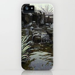 Water Falling iPhone Case