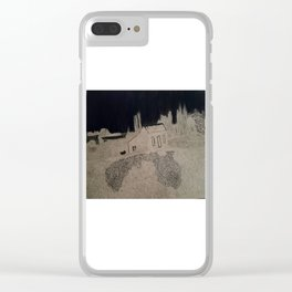 Abandoned, Greytown ,New Zealand Clear iPhone Case