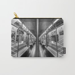 NYC subway N train Carry-All Pouch