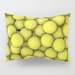 Tennis balls Pillow Sham