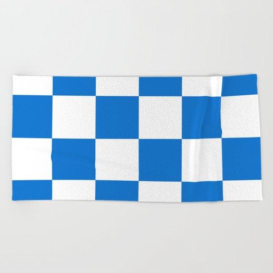 Flag of Dalfsen Beach Towel