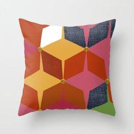 KALEIDOSCOPE 03 #HARLEQUIN Throw Pillow