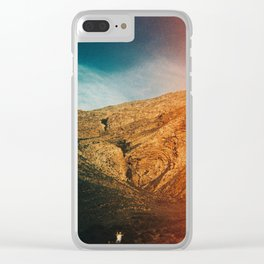 love is in the mountain Clear iPhone Case