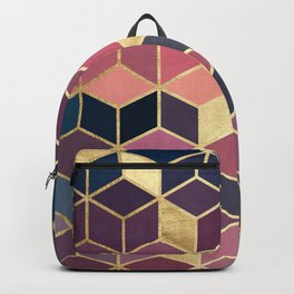 Mosaic with sunset I Backpack