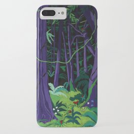 La Foresta Tropicale (Tropical Forest) iPhone Case