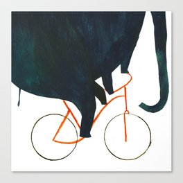 Reason TWO for using bike: Canvas Print