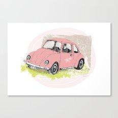 VW-Käfer Canvas Print