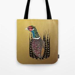 Pheasant Totem Tote Bag