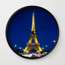 Paris 02 Wall Clock