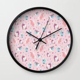 Pretty Ponies Wall Clock