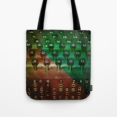 P's and Q's Tote Bag