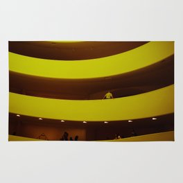 museum curves Rug