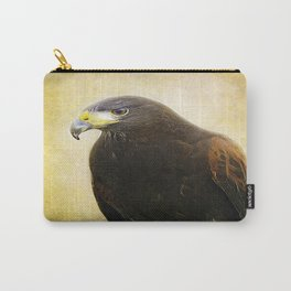 A Harris Hawk Carry-All Pouch