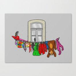 Estendal de Carnaval Canvas Print