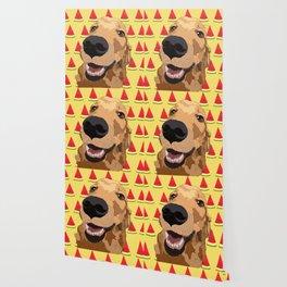 Summer Fun - Golden Retriever Wallpaper