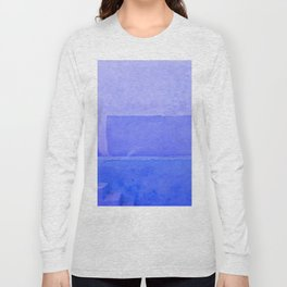 Blue City of Chefchaouen in Morocco Long Sleeve T-shirt