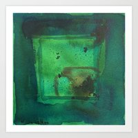 color abstract 5 Art Print