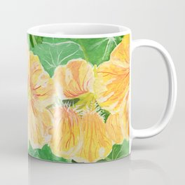 Nasturtium flowers in the garden Coffee Mug