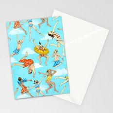 Pool Rats Stationery Cards