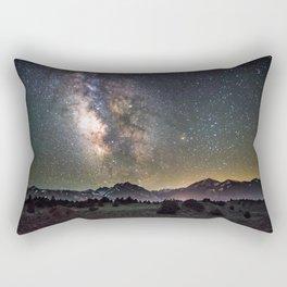 Milky Way, USA Rectangular Pillow