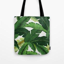 banana leaf palms Tote Bag