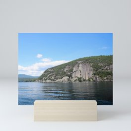 Summer's End: Roger's Rock on Lake George Mini Art Print