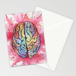 brain stuff Stationery Cards