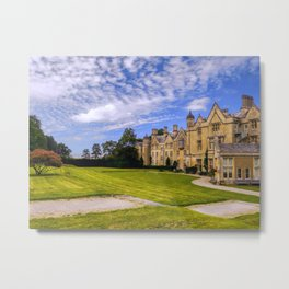 Landscaped Architecture.  Metal Print
