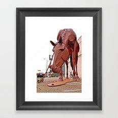 Grazing 99 Framed Art Print