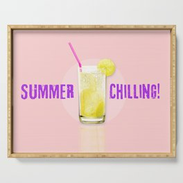 Summer Chilling! Serving Tray