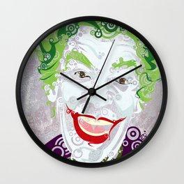 The Clown Prince 60 Wall Clock
