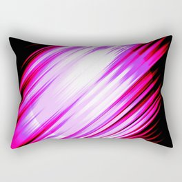 Parallel Universe Pink Planet Rectangular Pillow
