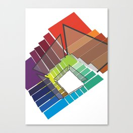 Stairway to Rainbow Canvas Print