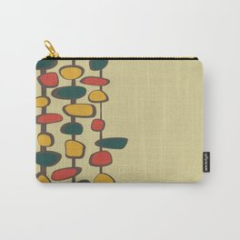 Mid Century Modern Baubles (gold) Carry-All Pouch