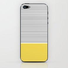 MINIMAL Green Stripes iPhone & iPod Skin